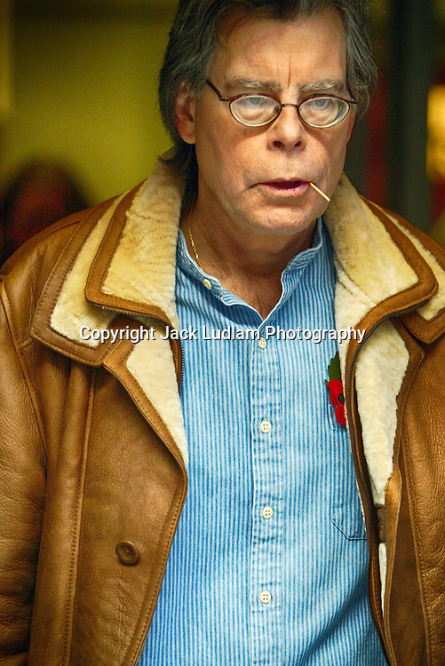 Stephen King Chewing a Match LONDON West End