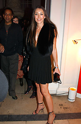 A party hosted by Mario Testino, Bianca Jagger and Kenneth Cole in collaboration with UNFPA and Marie Stopes International to celebrate the publication of Women to Woman: Positively Speaking - a book to raise awareness of women living with HIV/Aids, held at The Orangery, Kensington Palace, London on 2nd December 2004.<br />Picture shows:-TAMARA MELLON.<br /><br />NON EXCLUSIVE - WORLD RIGHTS
