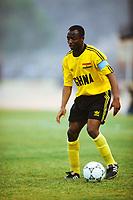 FOOTBALL - MISCS - HISTORIQUE ABEDI PELE ( GHANA ) - PHOTO GUY JEFFROY / DPPI