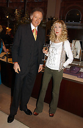 RICHARD & BASIA BRIGGS at a party to celebrate 100 years of Chinese Cinema hosted by Shangri-la Hotels and Tartan Films at Asprey, New Bond Street, London on 25th April 2006.<br /><br />NON EXCLUSIVE - WORLD RIGHTS