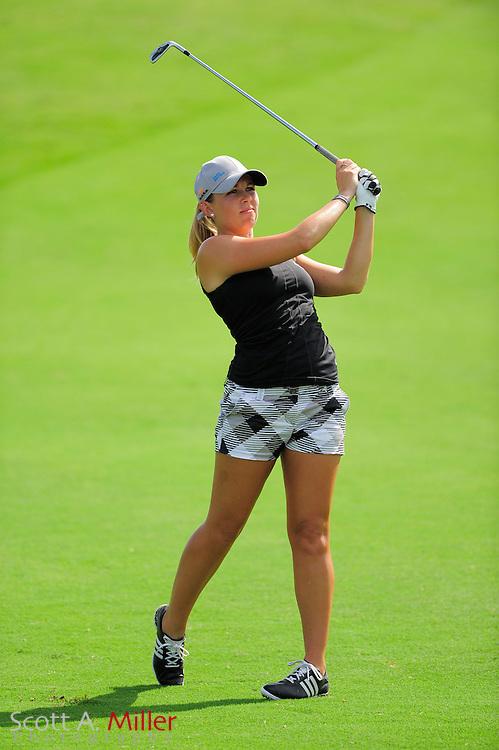 Sara Brown in action during the final round of the Daytona Beach Invitational  at LPGA International on Sep 29, 2012 in Daytona Beach, Florida...©2012 Scott A. Miller
