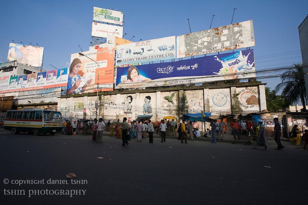 A Dhaka street