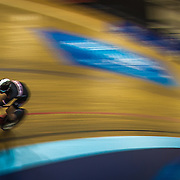 Biking at the Stub Hub Velodrome in Carson, California on November 5, 2015. (Photo by clint trahan/clinttrahan)