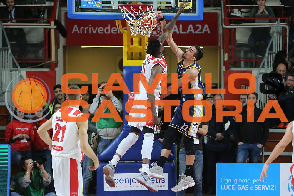 Mazzola Valerio<br /> Openjobmetis Varese - Fiat Torino<br /> Lega Basket Serie A 2017/2018<br /> Varese, 14/01/2018<br /> Foto Ciamillo - Castoria