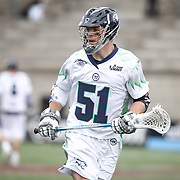 Michael Kimmel #51 of the Chesapeake Bayhawks is seen during the game at Harvard Stadium on April 27, 2014 in Boston, Massachusetts. (Photo by Elan Kawesch)