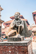 Kathmandu Durbar Square in front of the old royal palace of the former Kathmandu Kingdom, Nepal