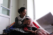 Malalai Joya with 7 year old Shikiba.