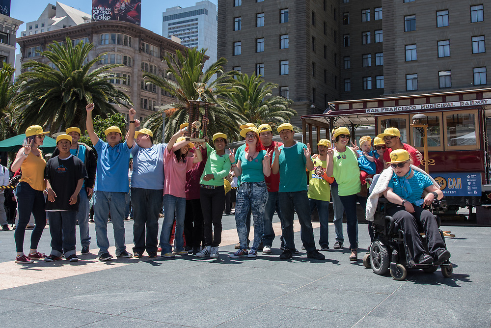 Students from AccessSFUSD Winning 1st Place at the 54th Annual Cable Car Bell Ringing Contest | July 13, 2017