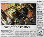 Bar Italia, Soho / The Observer / March 2004