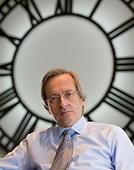 NEW YORK, NY- NOVEMBER 11, 2008:  William F. Harnisch, President and CEO of Peconic Partners is seen in the company's Park Avenue office Tuesday Nov. 11, 2008. Peconic Partners, LLC is a registered investment advisor managing over $1 billion in proprietary and client capital through long/short equity hedge fund strategies. (Photo by Robert Falcetti). .