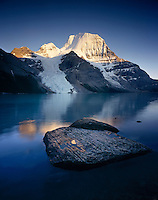 Mount Robson from Berg Lake, Mount Robson Provincial Park British Columbia Canada