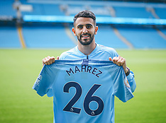 180712 Man City sign Mahrez