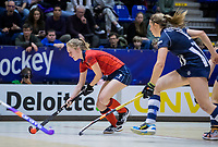 ROTTERDAM  - NK Zaalhockey . finale dames hoofdklasse: hdm-Laren 2-1. hdm landskampioen.  Elin van Erk (Lar)     COPYRIGHT KOEN SUYK