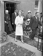 15/06/1961<br /> 06/15/1961<br /> 15 June 1961<br /> <br /> A Royal Visit to Ireland by Princess Grace and Prince Rainier of Monaco. The royal couple at Westport, Co. Mayo.