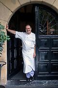 Hilario Arbelaitz from Zuberoa restaurant, in Oiartzun, Spain.