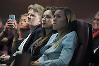 Gaetane Thiney / Camille Abily - 23.04.2015 - Conference de presse - Equipe de France feminine<br /> Photo : Andre Ferreira / Icon sport