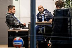 23-02-2017 NED: Nieuwe bondscoach Jamie Morrison. Nieuwegein<br /> Vandaag werd in Huis van de Sport de nieuwe bondscoach Jamie Morrison gepresenteerd.