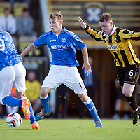 East Fife v St Johnstone...09.07.14  Pre-Season Friendly<br /> David Wotherspoon and Alan Walker<br /> Picture by Graeme Hart.<br /> Copyright Perthshire Picture Agency<br /> Tel: 01738 623350  Mobile: 07990 594431