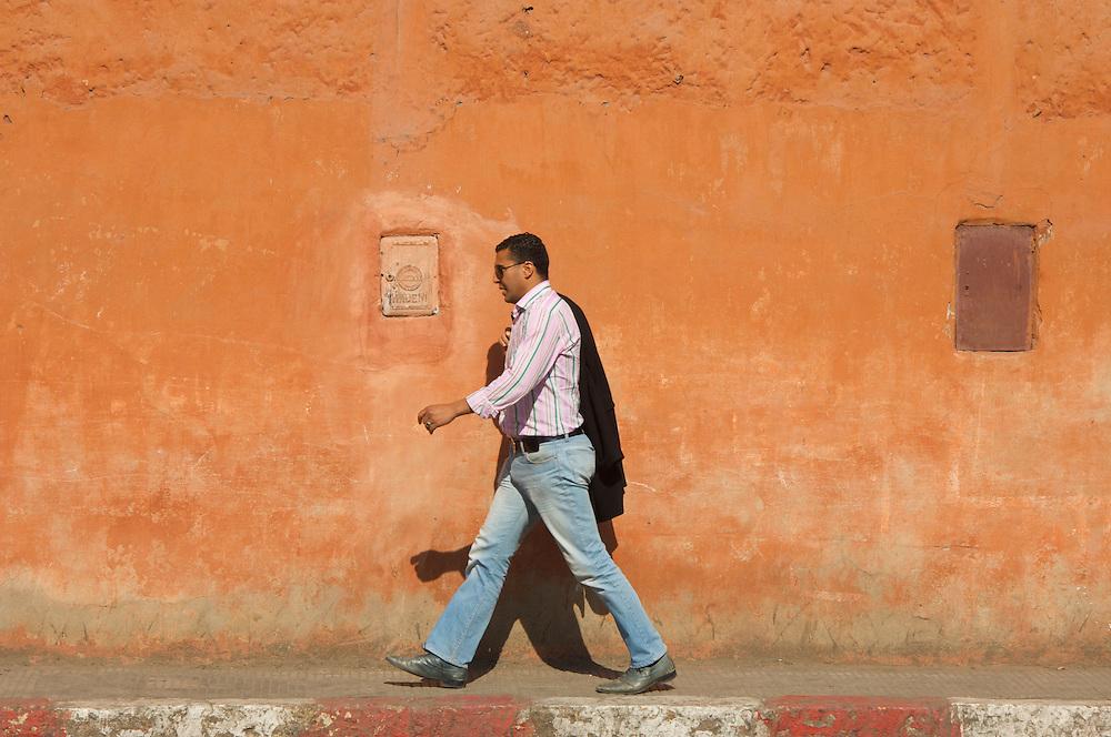 Modern Moroccan man