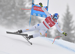 03.03.2019, Olympiabakken, Kvitfjell, NOR, FIS Weltcup Ski Alpin, SuperG, Herren, im Bild 1. Platz Dominik Paris (ITA) // race winner Dominik Paris of Italy in action during his run in the men's Super-G of FIS ski alpine world cup. Olympiabakken in Kvitfjell, Norway on 2019/03/03. EXPA Pictures © 2019, PhotoCredit: EXPA/ SM<br /> <br /> *****ATTENTION - OUT of GER*****