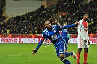 Alexandre Lacazette (OL) - joie<br /> <br /> FOOTBALL : AS Monaco vs Olympique Lyonnais - Ligue 1 - 18/12/2016<br /> Lyon<br /> <br /> Norway only