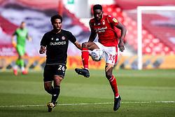 Sammy Ameobi of Nottingham Forest is shut down by Zak Vyner of Bristol City - Mandatory by-line: Robbie Stephenson/JMP - 01/07/2020 - FOOTBALL - The City Ground - Nottingham, England - Nottingham Forest v Bristol City - Sky Bet Championship