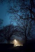 Lamp Post in Winter - Isle of Funen, Denmark