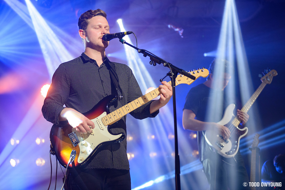 Alt-J photographed at iHeartRadio in New York City on July 23, 2015