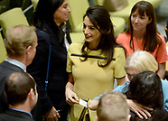 NY: Amal Clooney Speaks At The UN - 9 March 2017