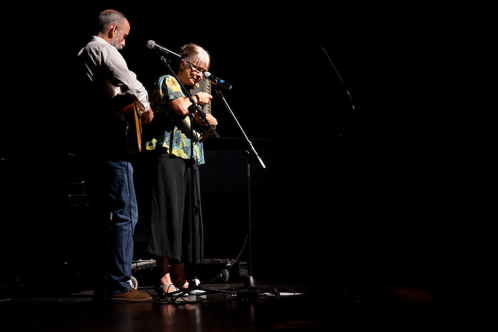 Bruce and Gay Dalzell perform at the 50th Anniversary of the March on Washington at Templeton -Blackburn Alumni Memorial Auditorium on August 28, 2013.