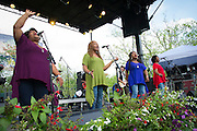 McCrary Sisters performing at the Old Settler's Music Festival, Austin, Texas, April 18, 2015.