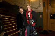 ESTHER RANTZEN; REBECCA WILCOX, Cirque de Soleil London premiere of Quidam. Royal albert Hall. 6 January 2009
