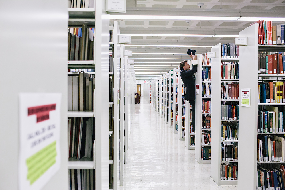 Scenes from the Georgetown University Library