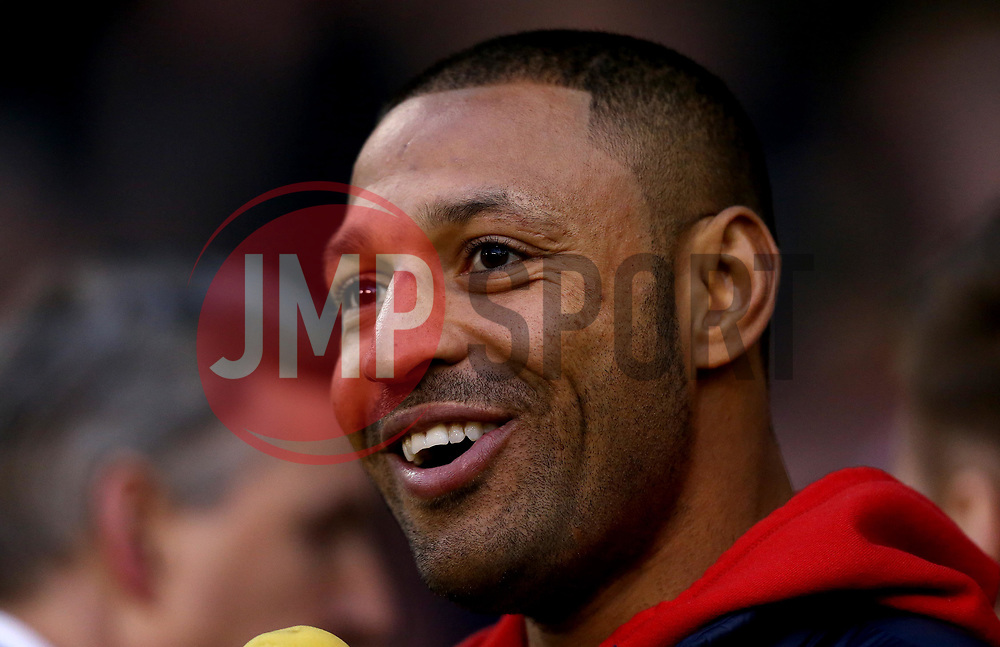 Boxer Kell Brook smiles at Brammall Lane as he promotes his fight against Errol Spence - Mandatory by-line: Robbie Stephenson/JMP - 05/04/2017 - FOOTBALL - Brammall Lane - Sheffield, England - Sheffield United v Coventry City - Sky Bet League One