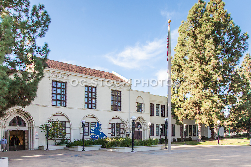 John Muir High School in Northwest Pasadena California