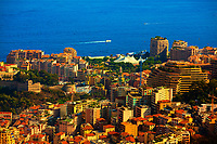 prinicipality of monaco on the french riviera france  cote d'azur