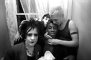Four Punks, High Wycombe, UK, 1980s.