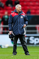 New Bristol Rugby assistant coach Alan Solomons looks on - Rogan Thomson/JMP - 26/02/2017 - RUGBY UNION - Ashton Gate Stadium - Bristol, England - Bristol Rugby v Bath - Aviva Premiership.