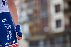 FDJ Nouvelle Aquitaine Futuroscope sign on at Emakumeen Bira 2018 - Stage 1, a 108 km road race starting and finishing in Legazpi, Spain on May 19, 2018. Photo by Sean Robinson/Velofocus.com