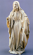 God the Father. Anonymous Flemish ivory 1400-1425. Photograph.