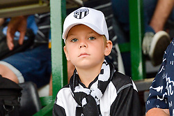 Young fan of NS Mura during football match between NS Mura and NK Triglav Kranj in 1st Round of Prva liga Telekom Slovenije 2018/19, on July 21, 2018 in Mestni stadion Fazanerija, Murska Sobota , Slovenia. Photo by Mario Horvat / Sportida