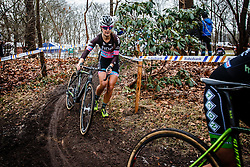 Laura Krans, NK Veldrijden Elite-Vrouwen en Amateur-Vrouwen / Dutch Championship Cyclocross Elite Women and Amateur Women at Sint Michielsgestel, Noord-Brabant, The Netherlands, 8 January 2017. Photo by Pim Nijland / PelotonPhotos.com | All photos usage must carry mandatory copyright credit (Peloton Photos | Pim Nijland)