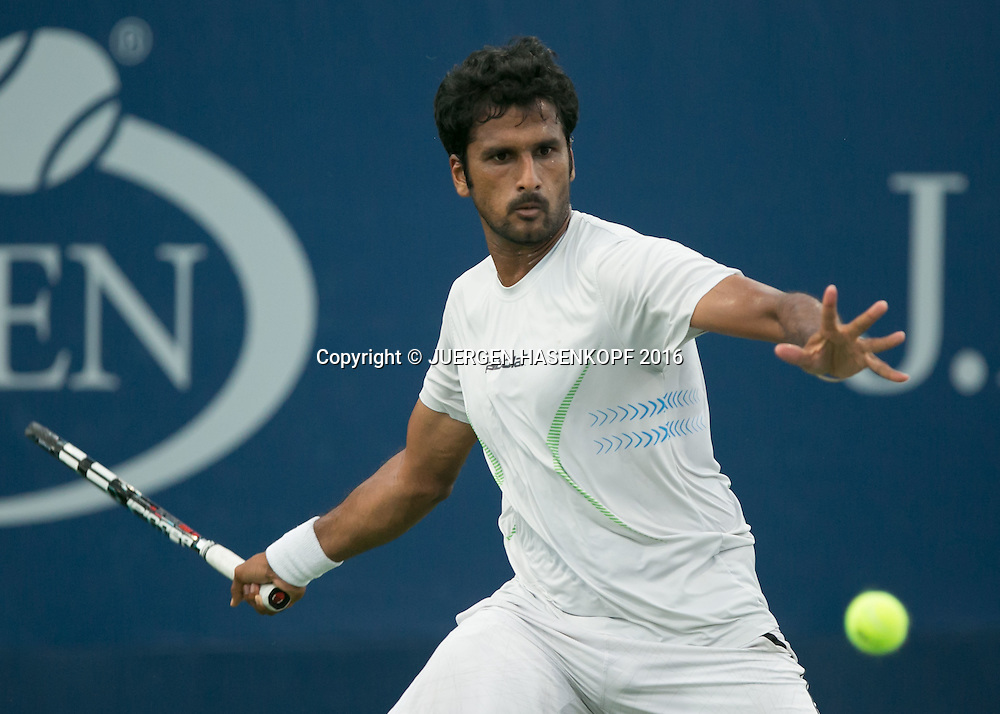 SAKETH MYNENI (IND)<br /> <br /> Tennis - US Open 2016 - Grand Slam ITF / ATP / WTA -  Flushing Meadows - New York - New York - USA  - 30 August 2016.