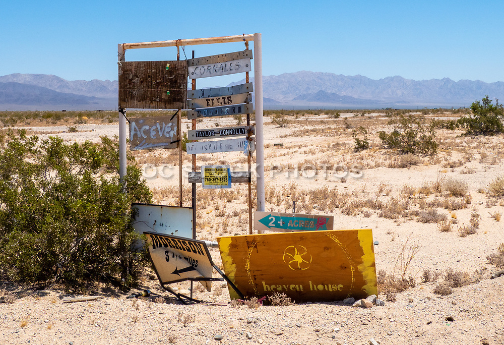 Old Signs in the Desert