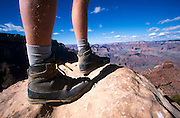 """Boots-eye"" view of Canyon from along S. Kaibab Trail, Grand Canyon National Park, Arizona..Subject photograph(s) are copyright Edward McCain. All rights are reserved except those specifically granted by Edward McCain in writing prior to publication...McCain Photography.211 S 4th Avenue.Tucson, AZ 85701-2103.(520) 623-1998.mobile: (520) 990-0999.fax: (520) 623-1190.http://www.mccainphoto.com.edward@mccainphoto.com."