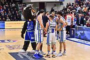 Team Banco di Sardegna Dinamo Sassari, Sirbo Mascotte<br /> Banco di Sardegna Dinamo Sassari - Openjobmets Varese<br /> Legabasket LBA Serie A 2019-2020<br /> Sassari, 12/01/2020<br /> Foto L.Canu / Ciamillo-Castoria