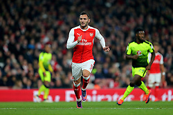 25 October 2016 - EFL Cup - 4th Round - Arsenal v Reading - Lucas of Arsenal - Photo: Marc Atkins / Offside.
