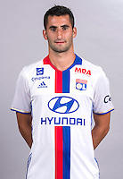 Maxime Gonalons during the photocall of Lyon for new season of Ligue 1 on September 22nd 2016 in Lyon<br /> Photo : OL / Icon Sport