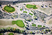 Golf courses in Arizona, such as this one in Glendale, consume 4 to 5 percent of the state's total water supply.  Many courses use two-loop irrigation systems, which water greens with potable water and fairways with reclaimed waster water.