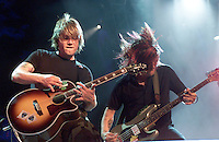 The Goo Goo Dolls onstage performing at the United We Stand: What More Can I Give? Concert a music benefit in the Nation's Capital to raise money in support of the recovery efforts from the September 11th attacks on America. The proceeds will go to various relief funds.  October 21, 2001